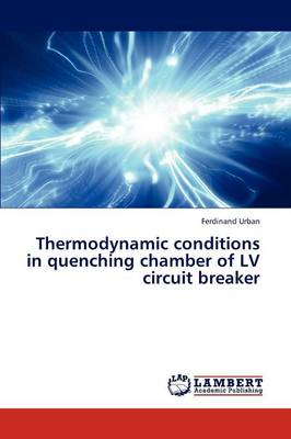 Thermodynamic Conditions in Quenching Chamber of LV Circuit Breaker (Paperback)