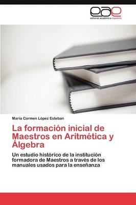La Formacion Inicial de Maestros En Aritmetica y Algebra (Paperback)