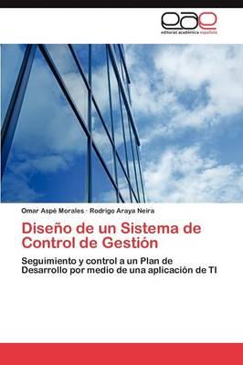 Diseno de Un Sistema de Control de Gestion (Paperback)