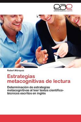 Estrategias Metacognitivas de Lectura (Paperback)