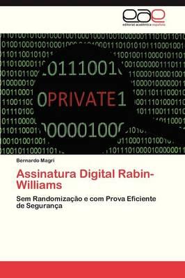Assinatura Digital Rabin-Williams (Paperback)