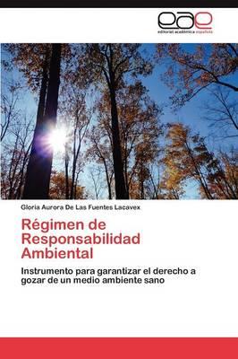 Regimen de Responsabilidad Ambiental (Paperback)