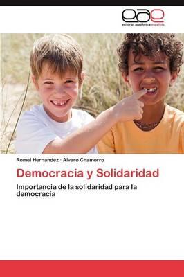 Democracia y Solidaridad (Paperback)