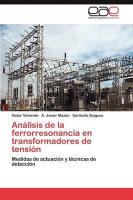 Analisis de La Ferrorresonancia En Transformadores de Tension (Paperback)