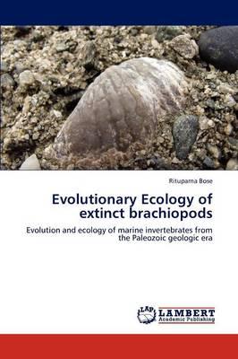 Evolutionary Ecology of Extinct Brachiopods (Paperback)