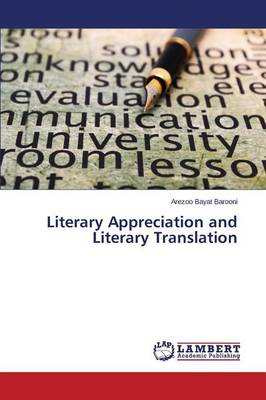 Literary Appreciation and Literary Translation (Paperback)
