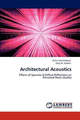 Architectural Acoustics (Paperback)