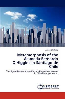 Metamorphosis of the Alameda Bernardo O'Higgins in Santiago de Chile (Paperback)