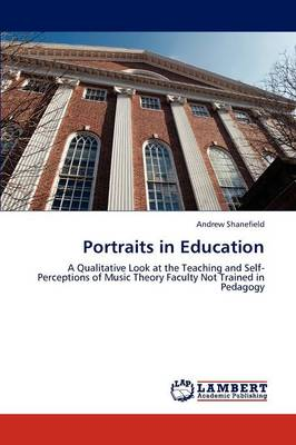 Portraits in Education (Paperback)