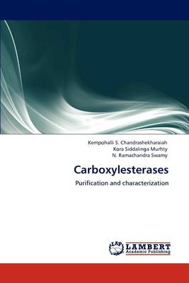 Carboxylesterases (Paperback)