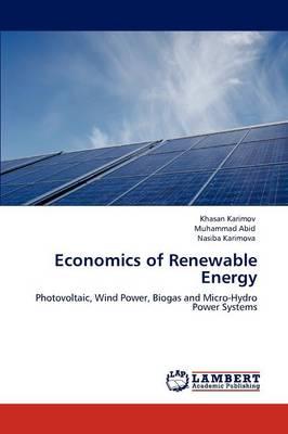 Economics of Renewable Energy (Paperback)