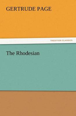 The Rhodesian (Paperback)