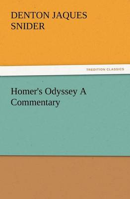 Homer's Odyssey a Commentary (Paperback)