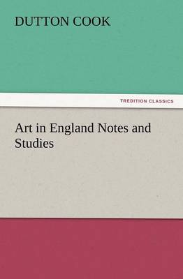 Art in England Notes and Studies (Paperback)