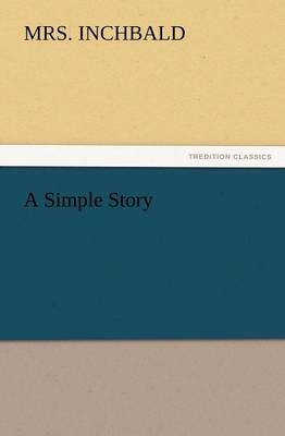 A Simple Story (Paperback)