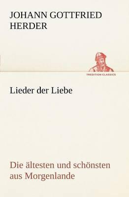 Lieder Der Liebe (Paperback)