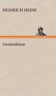 Gestandnisse (Hardback)