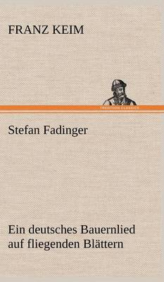 Stefan Fadinger (Hardback)
