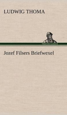 Jozef Filsers Briefwexel (Hardback)