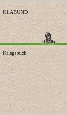 Kriegsbuch (Hardback)