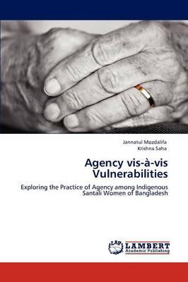 Agency VIS-A-VIS Vulnerabilities (Paperback)