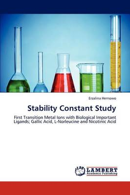 Stability Constant Study (Paperback)