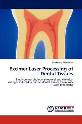 Excimer Laser Processing of Dental Tissues (Paperback)