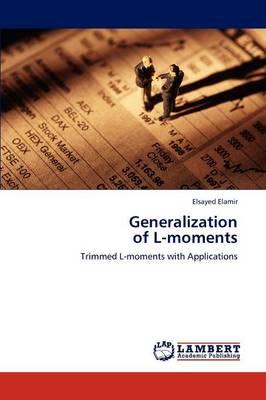 Generalization of L-Moments (Paperback)