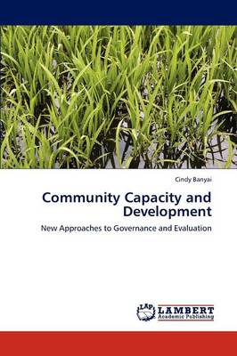 Community Capacity and Development (Paperback)