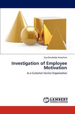 Investigation of Employee Motivation (Paperback)