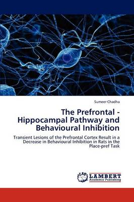The Prefrontal - Hippocampal Pathway and Behavioural Inhibition (Paperback)