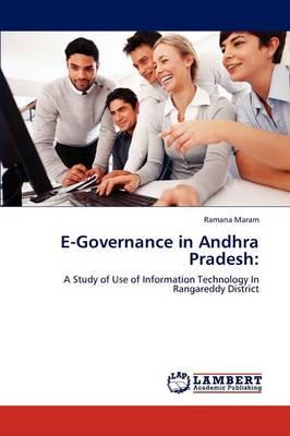 E-Governance in Andhra Pradesh (Paperback)