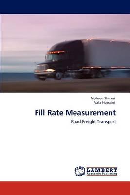 Fill Rate Measurement (Paperback)