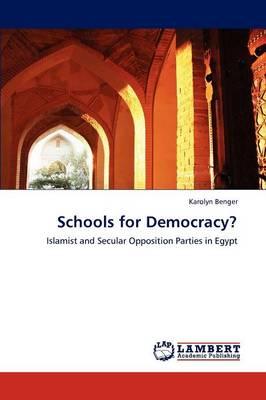 Schools for Democracy? (Paperback)
