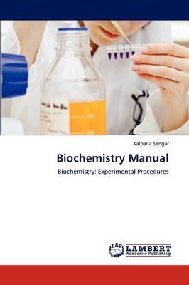 Biochemistry Manual (Paperback)