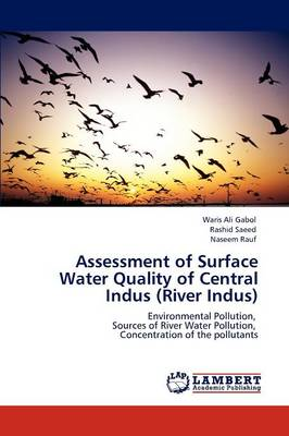 Assessment of Surface Water Quality of Central Indus (River Indus) (Paperback)