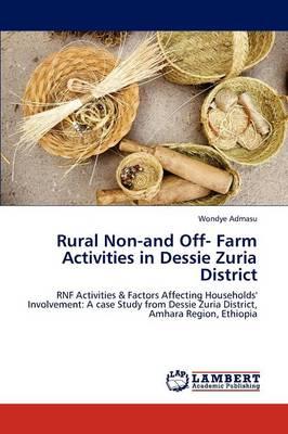 Rural Non-And Off- Farm Activities in Dessie Zuria District (Paperback)