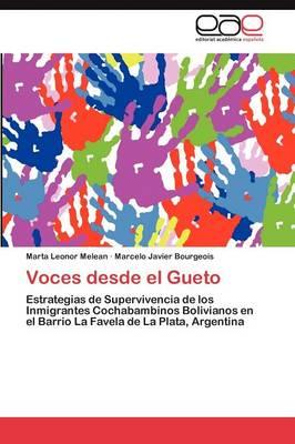 Voces Desde El Gueto (Paperback)