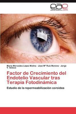 Factor de Crecimiento del Endotelio Vascular Tras Terapia Fotodinamica (Paperback)