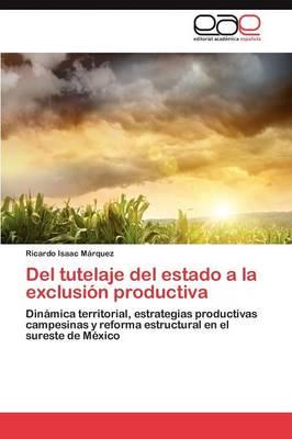del Tutelaje del Estado a la Exclusion Productiva (Paperback)