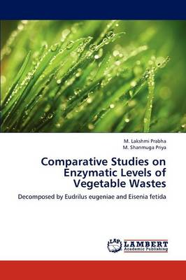 Comparative Studies on Enzymatic Levels of Vegetable Wastes (Paperback)