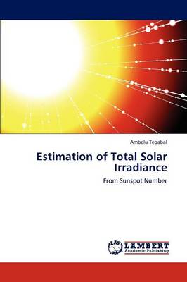 Estimation of Total Solar Irradiance (Paperback)