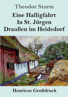Eine Halligfahrt / In St. Jurgen / Draussen im Heidedorf (Grossdruck) (Paperback)