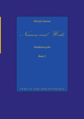 Namen und Werke 2 (Paperback)