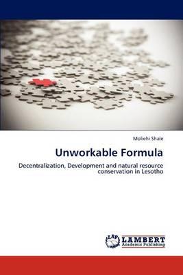 Unworkable Formula (Paperback)