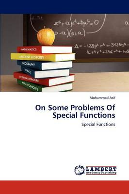 On Some Problems of Special Functions (Paperback)