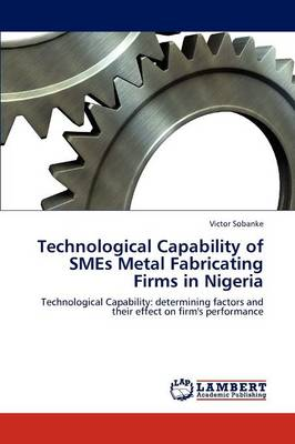 Technological Capability of Smes Metal Fabricating Firms in Nigeria (Paperback)