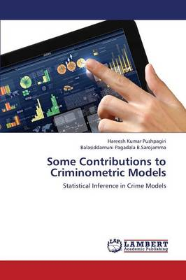 Some Contributions to Criminometric Models (Paperback)