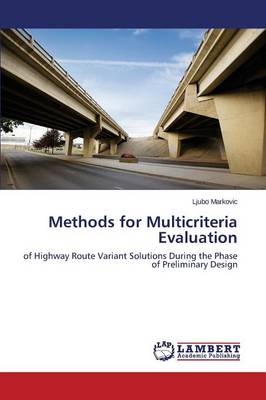 Methods for Multicriteria Evaluation (Paperback)