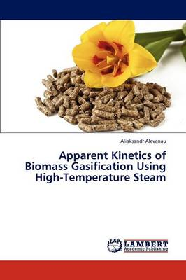 Apparent Kinetics of Biomass Gasification Using High-Temperature Steam (Paperback)